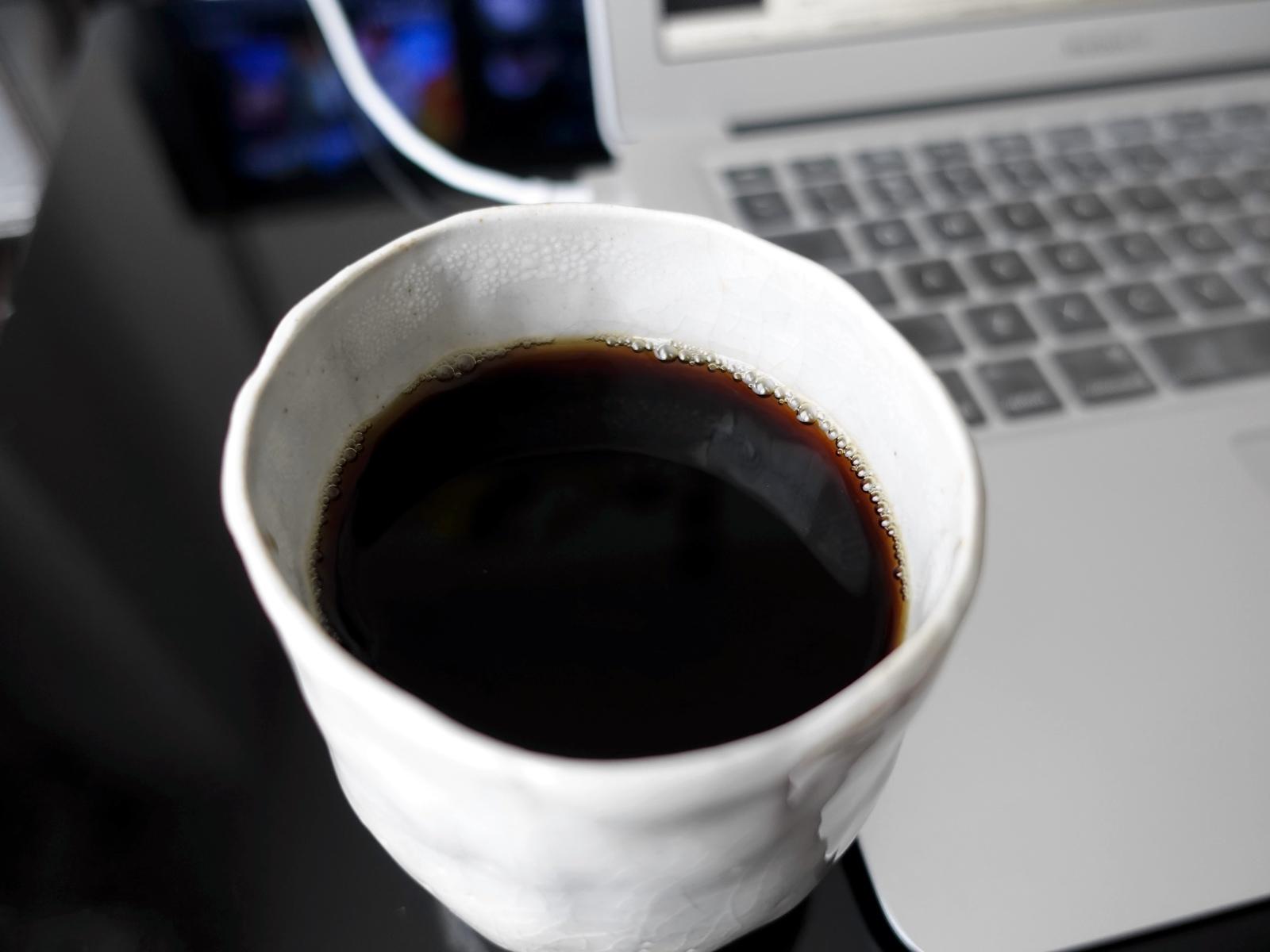 自作コーヒーカップ