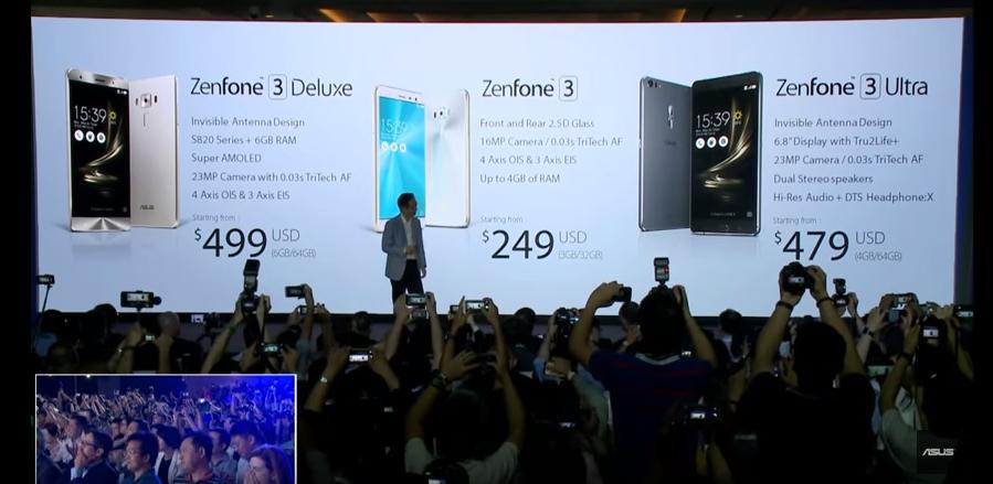 Zenfone3 Price