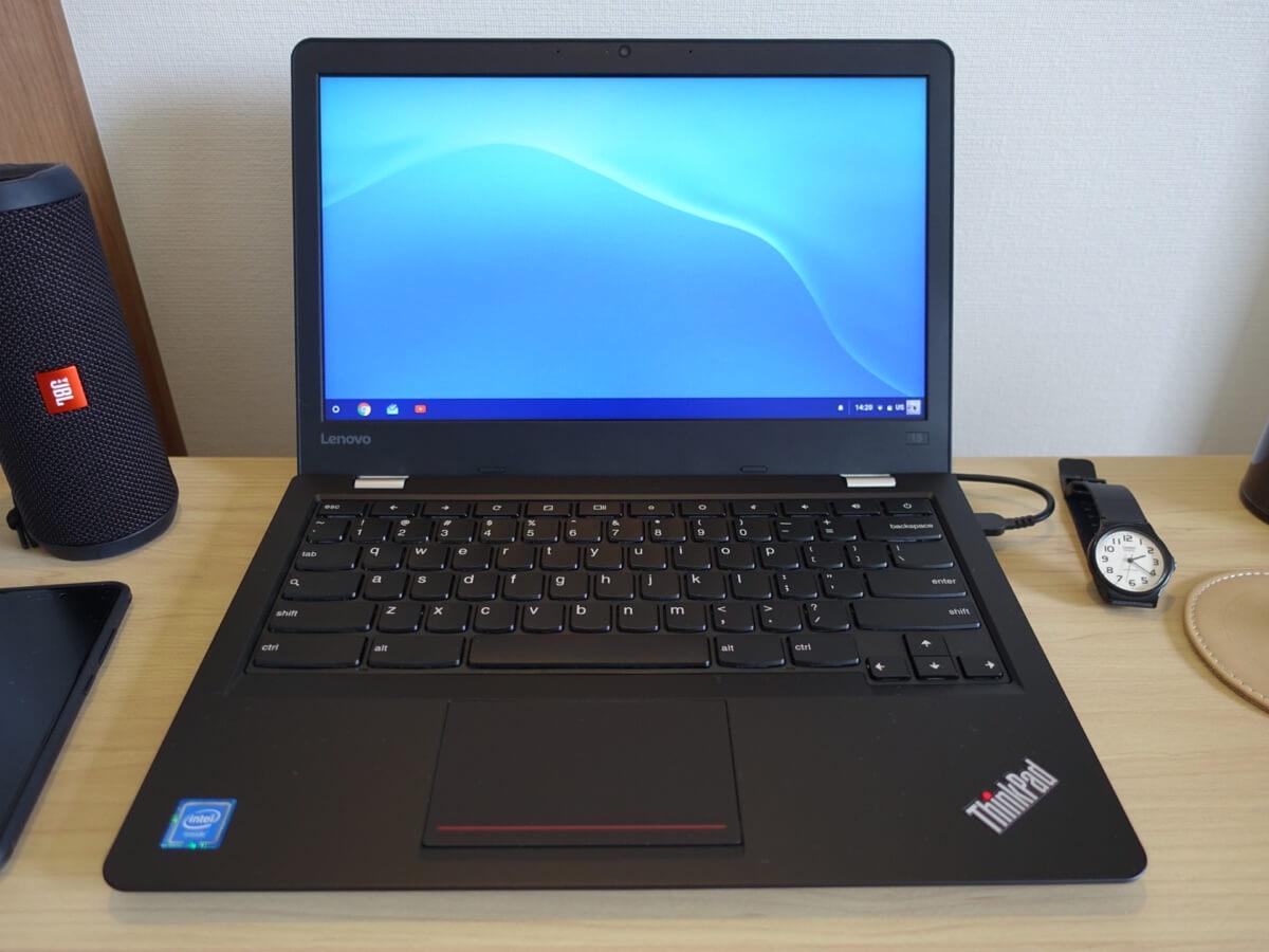 ThinkPad 13 Chromebook購入・レビュー。これは最高のライティングデバイスだ。